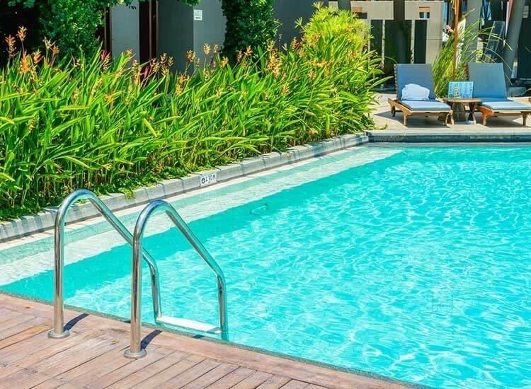 swimming pool opening